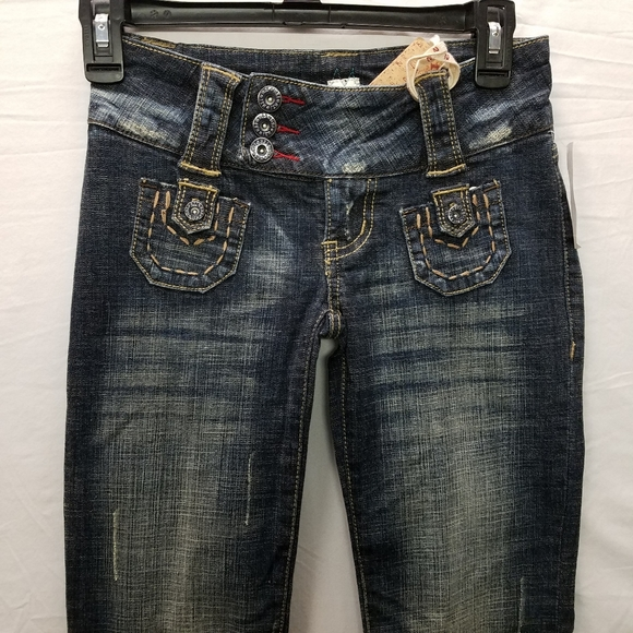 Hydraulic H2j Jeans Bootcut Flare Size 0 26x33